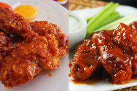 Chicken fire wings ala Richeese ternyata mudah bikinnya, ini resepnya