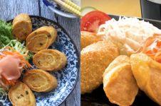 Yuk intip cara buat chicken egg roll ala Hoka-Hoka Bento
