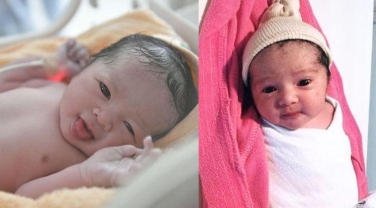 Baru lahir, 6 bayi artis ini bikin heboh karena cantik