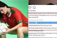 Maria Ozawa ngaku sedih, warganet Indonesia dan Malaysia malah ribut