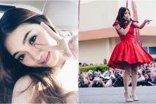 10 Pesona Sendy eks JKT48, kini jadi biduan dangdut rasa Jepang