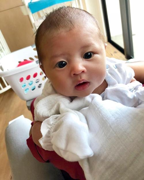 potret baby rafa sandra dewi  © 2018 berbagai sumber