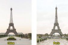 15 Potret Tianducheng, kota di China yang dibikin persis plek Paris