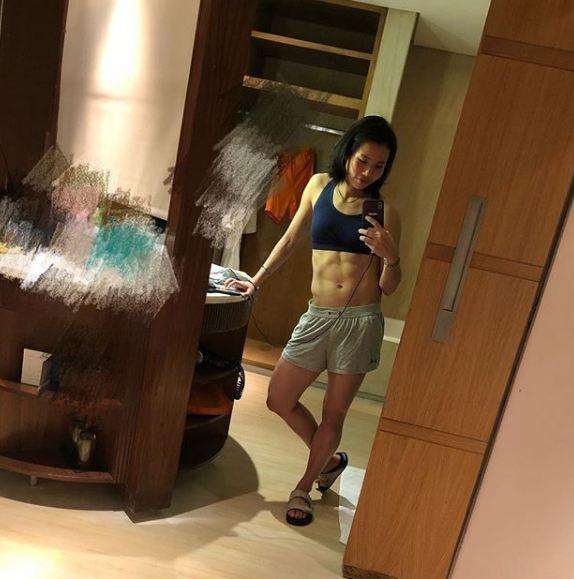 tai tzu-ying sixpack © Instagram/@tai_tzuying