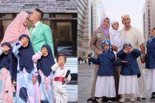 12 Momen harmonis keluarga Irfan Hakim, hidup adem jauh dari gosip