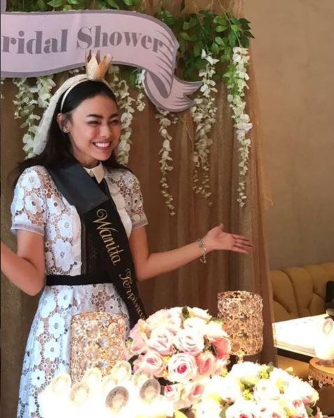bridal shower Whulandary Herman © 2018 instagram