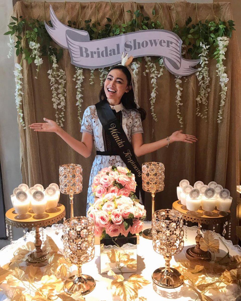 bridal shower Whulandary Herman © 2018 instagram