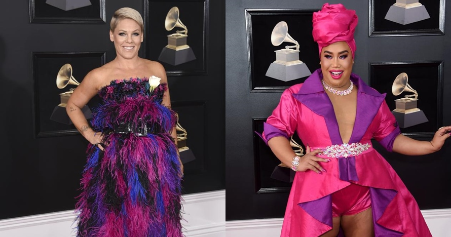 9 Seleb dengan busana terunik di red carpet Grammy Awards 2018