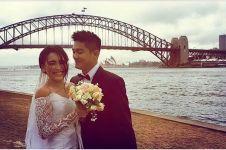 Bukan momen pernikahan, 3 pasangan artis ini kompak berbaju pengantin