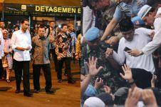 5 Aksi Jokowi nekat kunjungi lokasi berisiko, tak ada takutnya