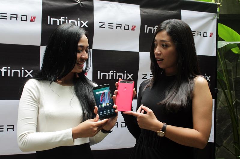 Infinix Zero 5, ponsel pintar yang diklaim sebagai penantang iPhone8