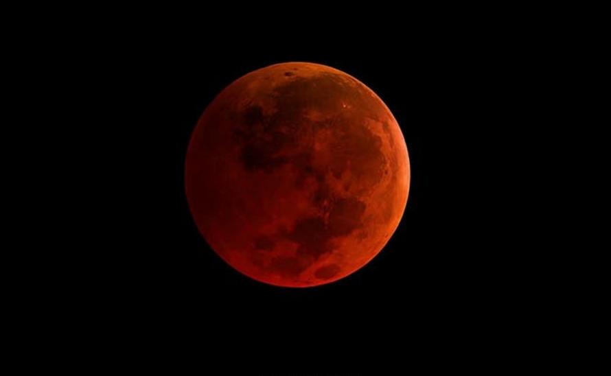 Ini Penjelasan Kenapa Bisa Terjadi Gerhana Bulan Merah Darah