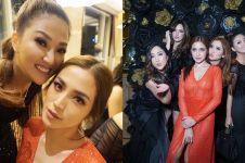 10 Momen seru perayaan ulang tahun Jessica Iskandar, penuh tamu cantik