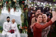 10 Momen pernikahan Adam Sinclair, adik ipar Bunga Citra Lestari