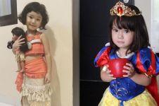 Gaya 7 anak seleb pakai kostum ala princess, bak putri raja