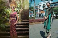 10 Pesona Happy Salma saat kenakan baju daerah, anggun banget