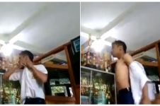 Viral video siswa tantang kepala sekolah berkelahi, bikin miris!