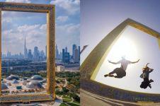 10 Potret Dubai Frame, bangunan berbentuk bingkai terbesar di dunia