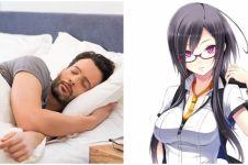 Bantal ala dada karakter anime cewek ini buat kamu ingin tiduran terus