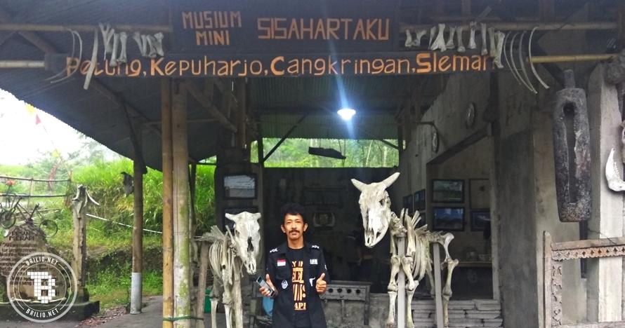 Kisah Sriyanto, korban letusan Merapi 2010 yang memuseumkan hartanya