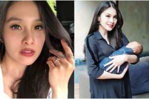 10 Penampilan Sandra Dewi usai melahirkan, hot mama banget!