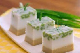 Intip cara mudah bikin puding es cendol, dijamin beda dengan biasanya
