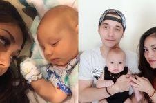 Selfie bareng, Celine & bayinya sama-sama dibilang mirip boneka