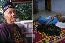 Kisah Sandiman, usia 78 tahun sendirian rawat dua anaknya yang cacat