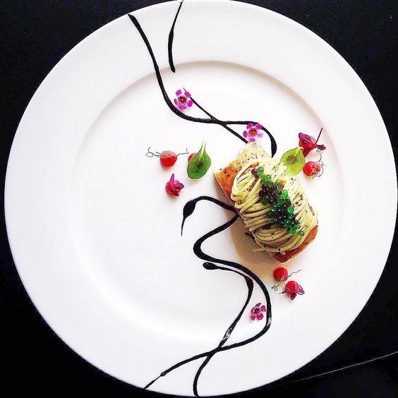 7 Kreasi plating makanan © 2018 Pinterest