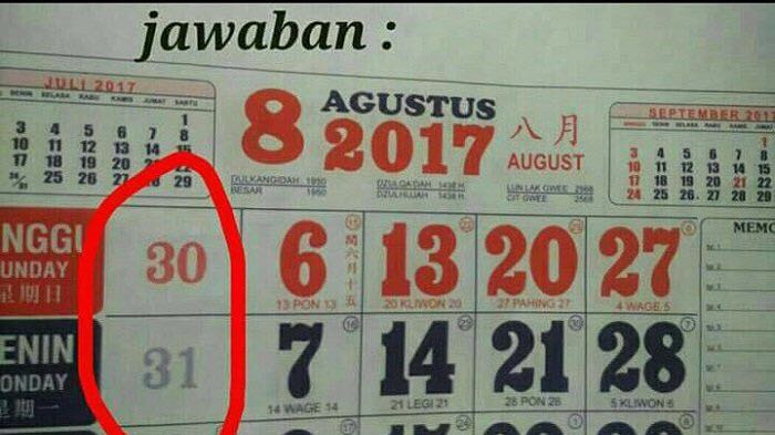 tes iq kalender © 2018 brilio.net berbagai sumber