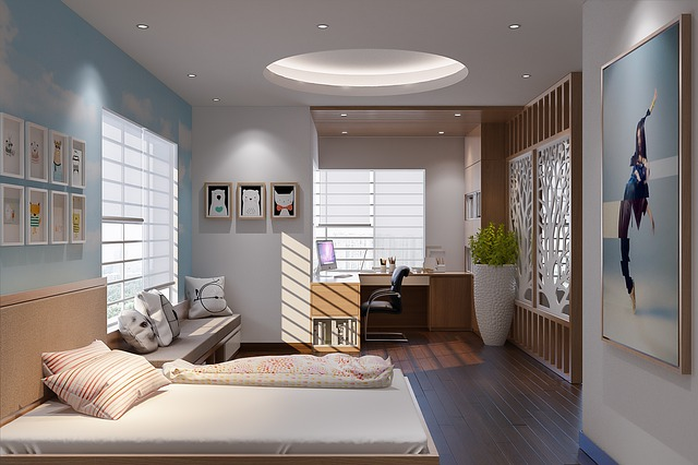 Ilustrasi kamar tidur © Pixabay