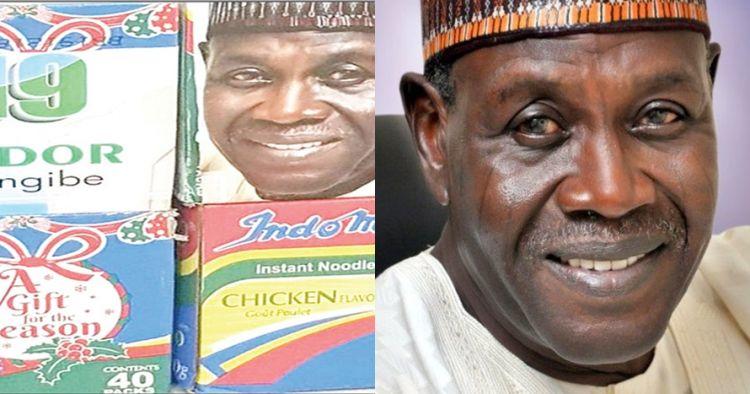 Politisi negara ini gunakan Indomie untuk kampanye