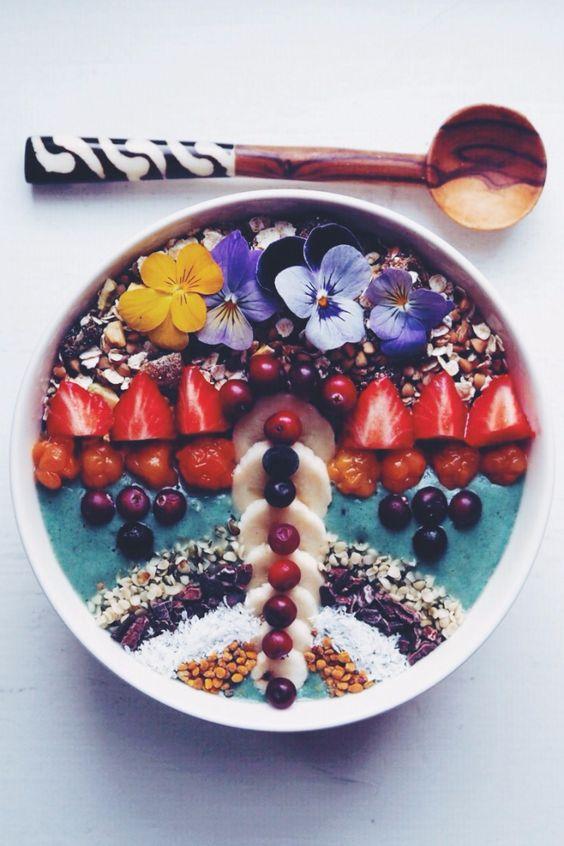 8 kreasi smoothies bowl © 2018 Pinterest