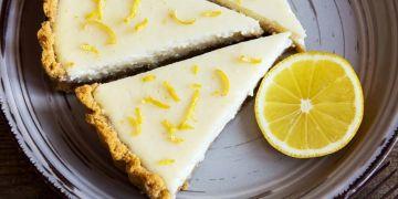 Begini lho cara mudah bikin lemon cheese cake tanpa oven