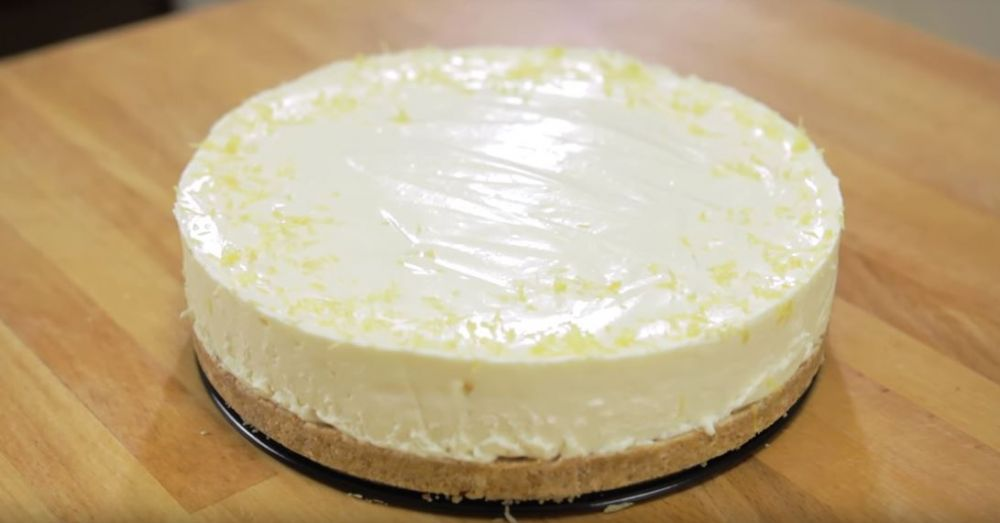 bikin lemon cheese cake © 2018 Youtube