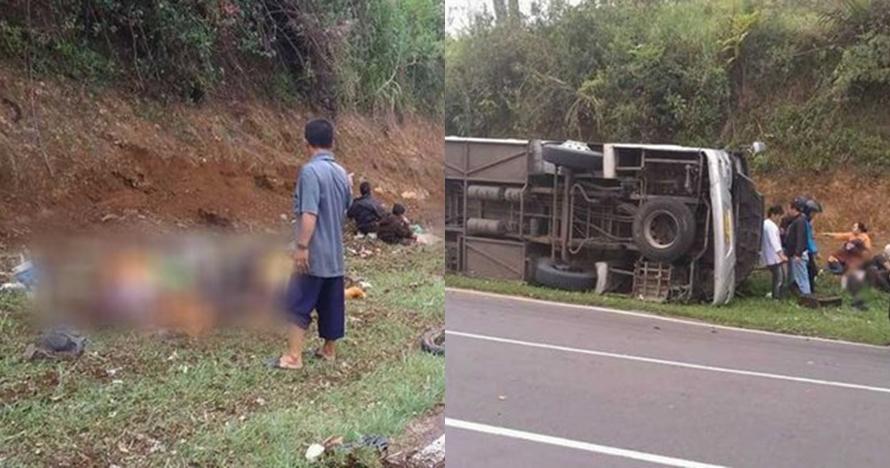 Korban tewas kecelakaan bus di tanjakan Emen 27 orang