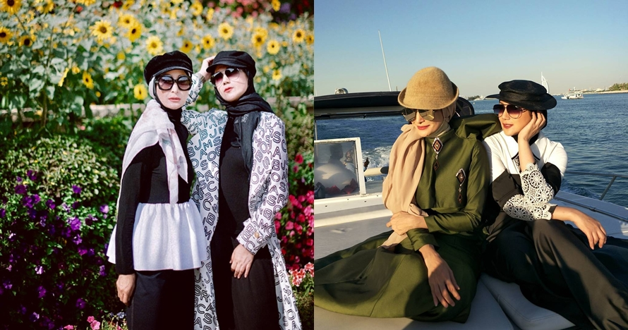 10 Potret persahabatan Inneke Koesherawati & Marini Zumarnis, bak ABG