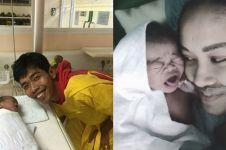 Istri Dede Sunandar lahirkan anak kedua, ini potret bahagianya