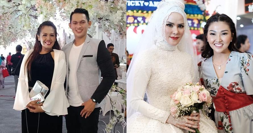 Gaya 6 seleb di pernikahan Angel Lelga & Vicky, glamor & kece abis