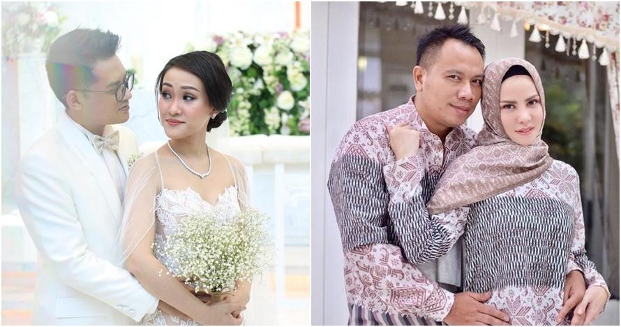 9 Pasangan seleb ini menikah di tanggal, bulan, dan tahun yang sama
