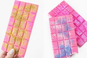 4 Kreasi cokelat glitter buat ide kado Valentine, beda dari biasanya