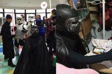 10 Potret rumah sakit di Jakarta saat 'diserang' pasukan Star Wars