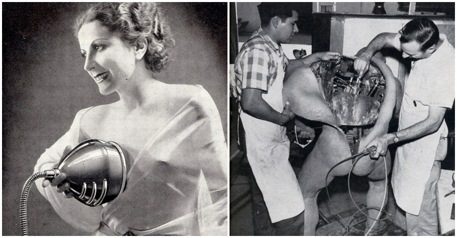 10 Tingkah aneh tapi nyata di tahun 40-an ini ngeri-ngeri absurd
