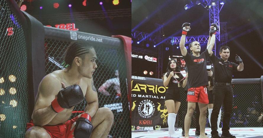 7 Aksi Randy Pangalila di atas ring MMA, awas salah fokus