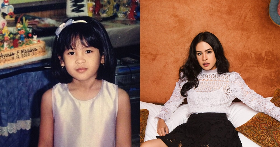 10 Transformasi Maudy Ayunda, bukti cantik dan berbakat sejak kecil