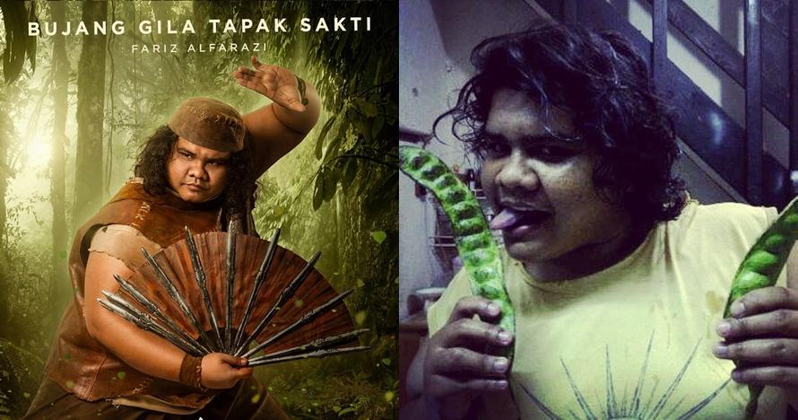 7 Gaya Fariz 'Bujang Gila' di Wiro Sableng, gilanya nggak cuma di film