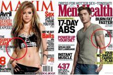 11 Foto editan di majalah ini hasilnya malah bikin gagal paham