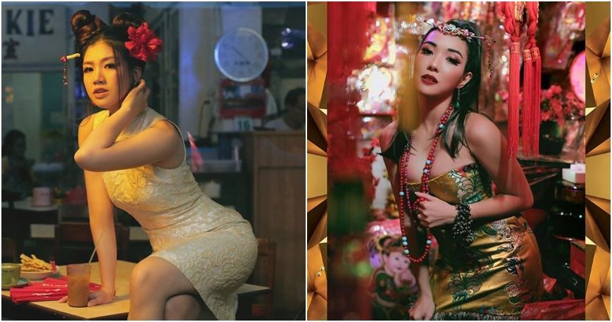 Pesona 8 seleb cantik saat rayakan Imlek 2018, posenya menggoda banget