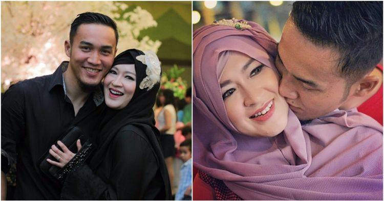 10 Potret mesra Okie Agustina & suami, kisah harmonisnya bikin salut!