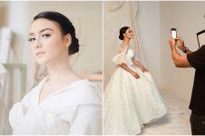 7 Gaya Citra Kirana pemotretan pakai baju pengantin, anggun memesona